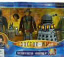 The Fourth Doctor Adventure Set (Revenge of The Cybermen, Pyramids of Mars, Robots of Death & Destiny of The Daleks)