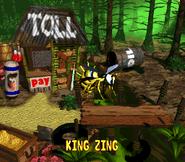 King Zing Credits Screen - Donkey Kong Country 2