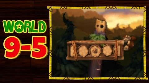 Donkey Kong Country Returns 3D - 9-5 Topsy Turvy All Puzzle Pieces