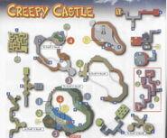 Creepy castle map