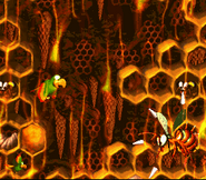 King Zing Battle Squawks - Donkey Kong Country 2