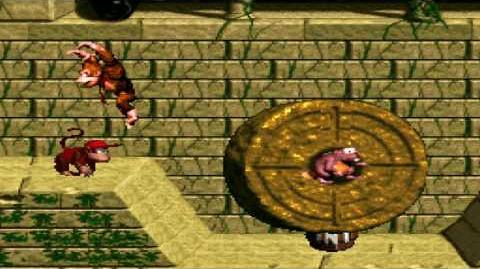 Donkey Kong Country (SNES) - Monkey Mines - Millstone Mayhem
