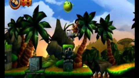 Donkey Kong Country Returns 100% Video Walkthrough 1-3 Tree Top Bop
