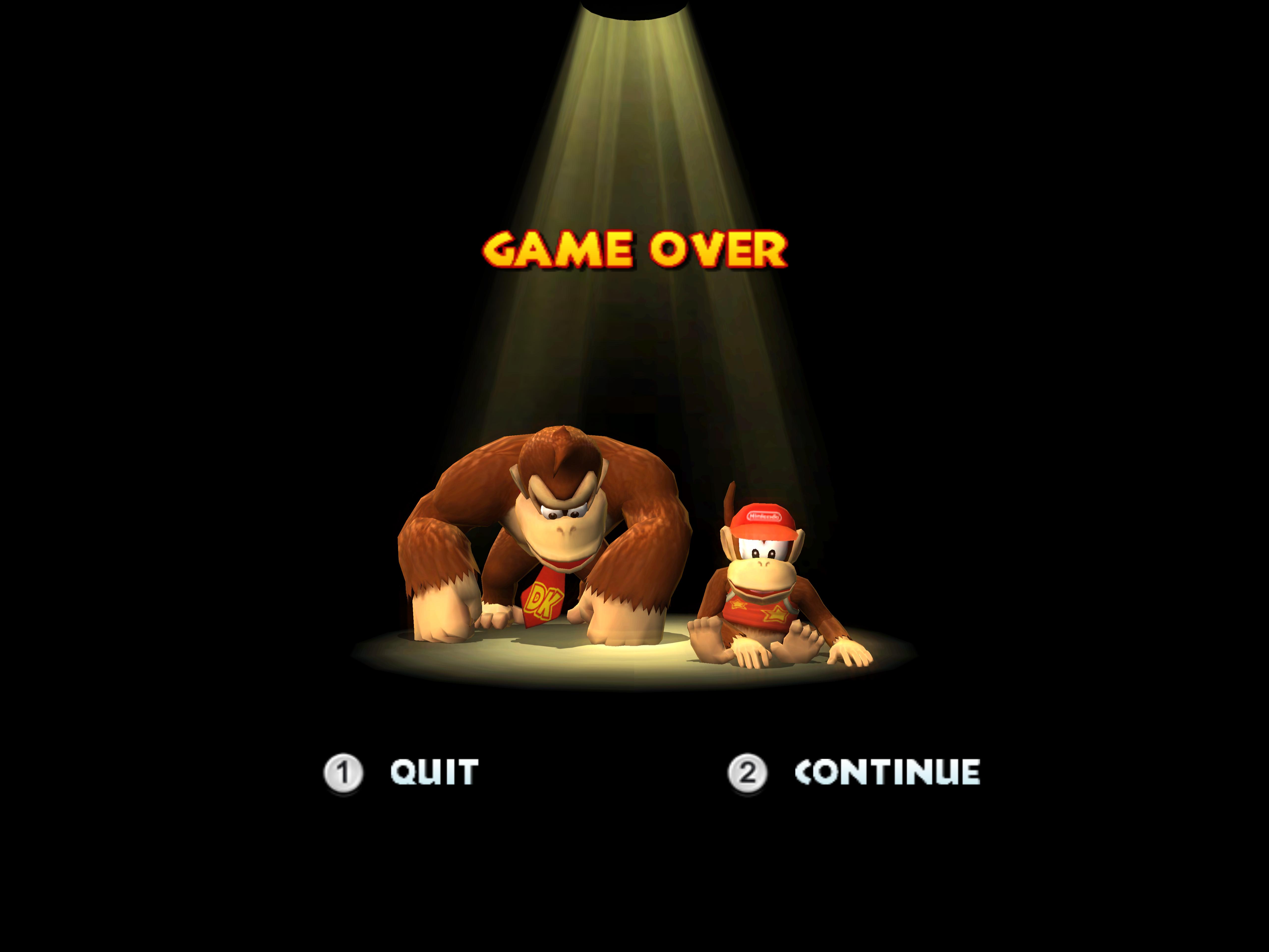 Game Over Screens | Donkey Kong Wiki | FANDOM powered by Wikia