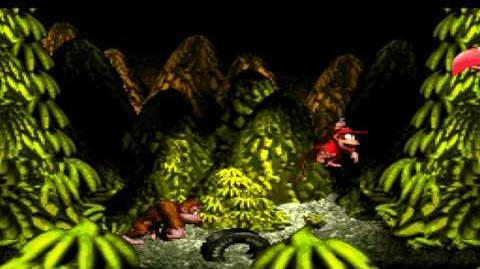 Donkey Kong Country (SNES) - Monkey Mines - Necky's Nuts