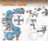 Crystal caves map