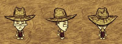 Straw Hat Wickerbottom