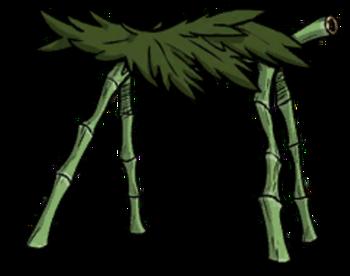 Palm Leaf Hut