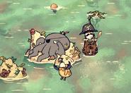Yaarctopus In-Game