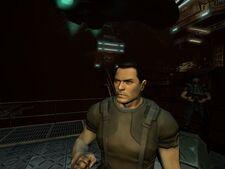 Doom3 protagonist