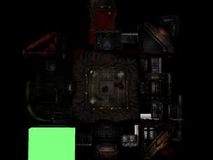 Classic Doom E1M9 Overhead
