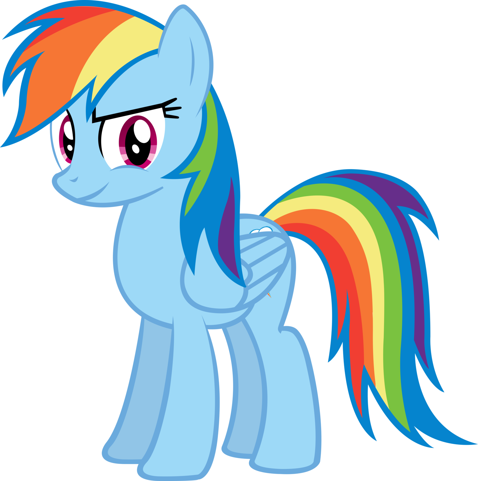 Rainbow Dash Png Image - Rainbow...