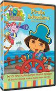 Dora's Pirate Adventure DVD