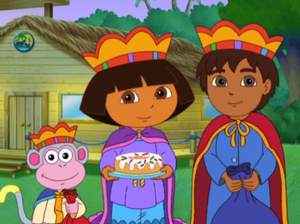 Dora Saves Three Kings Day Dora The Explorer Wiki