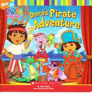 Dora Pirate Adventure Book