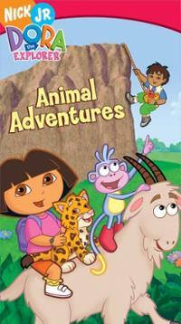 Dora-explorer-animal-adventures-vhs-cover-art