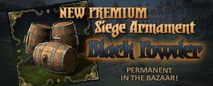 Scroller dotd premium black powder