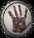 Shield black hand