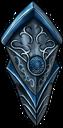 Shield blue knight