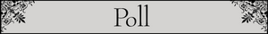 Poll section title