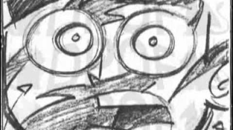 Danny Phantom Original Title Sequence - Animatic