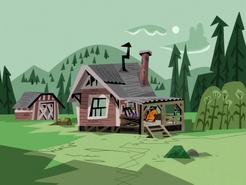 S01e08 Maddie's Sister's cabin 1
