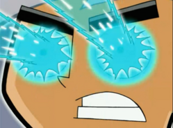 S03e06 Danny's eye ice-blast