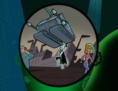 S02M02 Dark Danny superhuman strength
