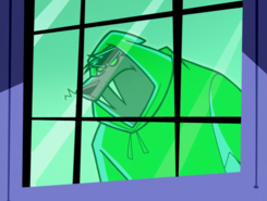 S01e15 Wulf outside the window