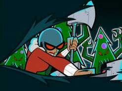 S02e10 Maddie slaying trees