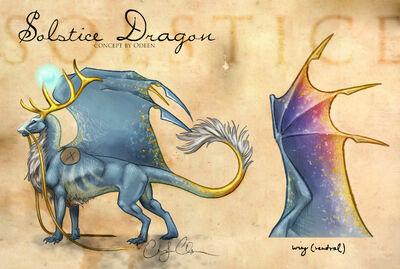 Solstice Dragon concept