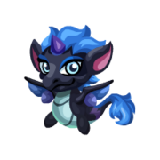 Dark Unicorn Baby