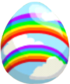 Double Rainbow Egg