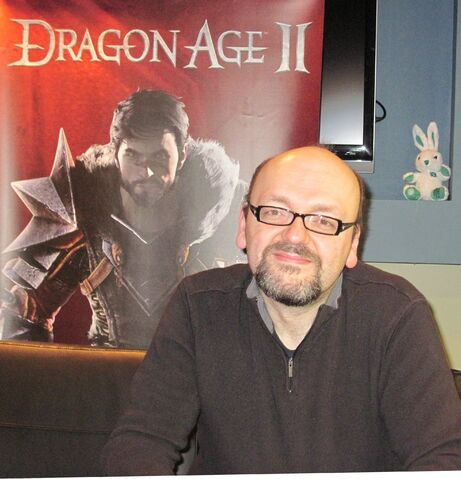 File:David Gaider - DAII promotion.jpg