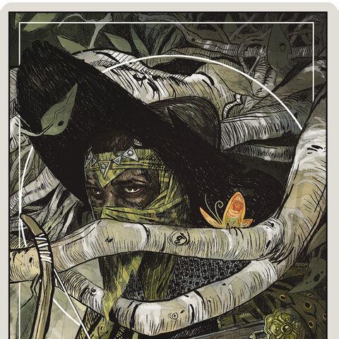 The Hunter tarot card