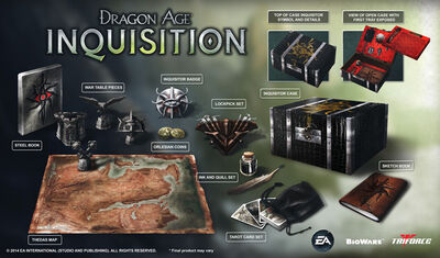 Inquisitor's edition details