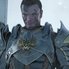 The Warden seen in the Sacred Ashes trailer.