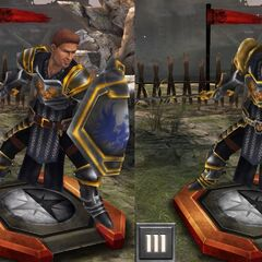 Tier progression of Grey Warden Alistair in <i><a href=