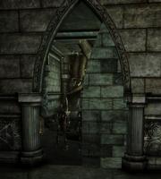 Ruins Upper Level - secret door