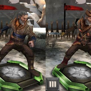 Tier progression of Arl Eamon in <i>Heroes of Dragon Age</i>
