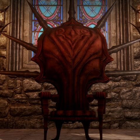 Inquisition throne without accessories