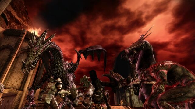 File:DAO Battle at Fort Drakon - quest - The Darkspawn Chronicles.jpg