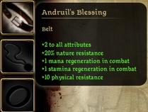 Andruil's Blessing