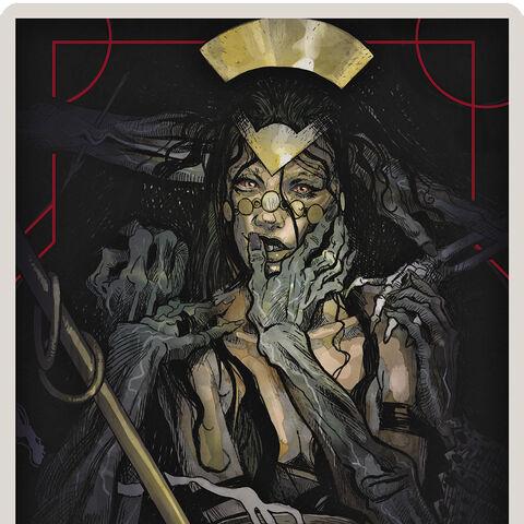 Necromancer Tarot Card