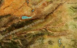 Kal-Sharok map location