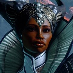 Vivienne's profile on the official Dragon Age: Inquisition website