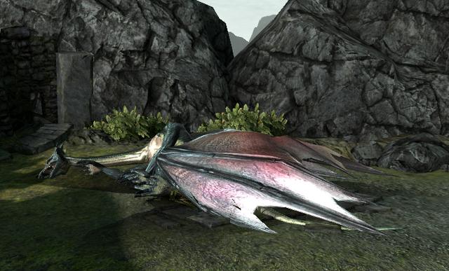 File:Mature dragon slain.PNG