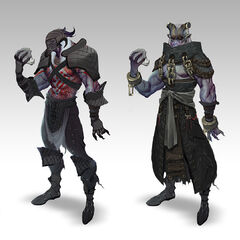 Concept art for <i>Dragon Age II</i>