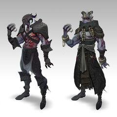 Qunari Dragon Age Wiki Fandom Powered By Wikia