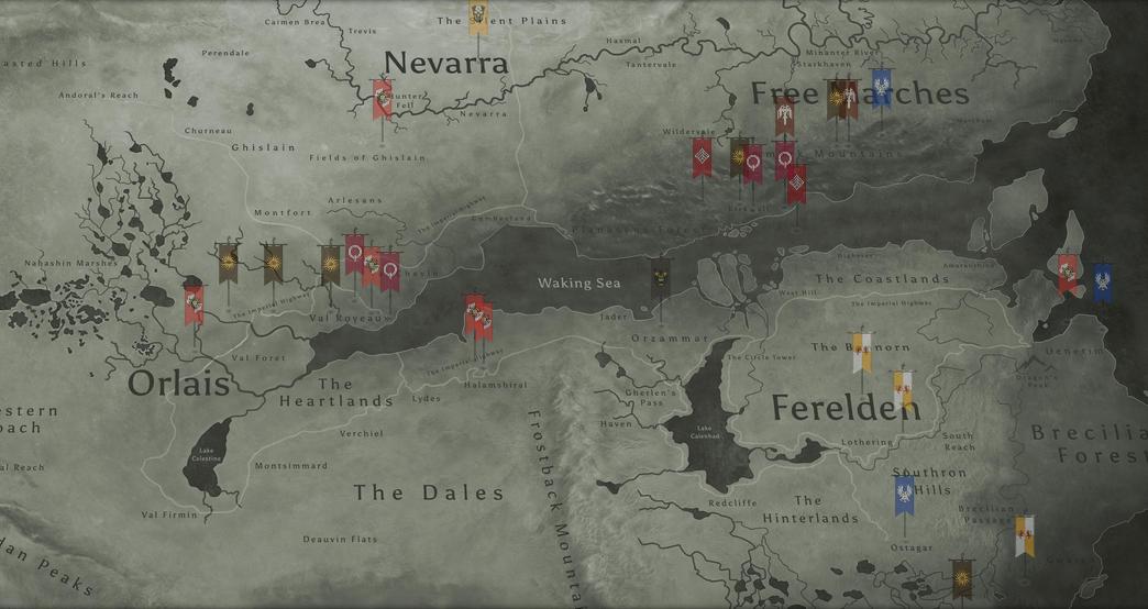 Dragon Age Inquisition Map - DANZABELICA